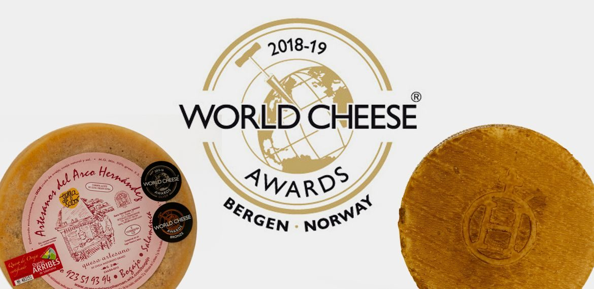 Queso Arribes Salamanca -World Cheese Adwards