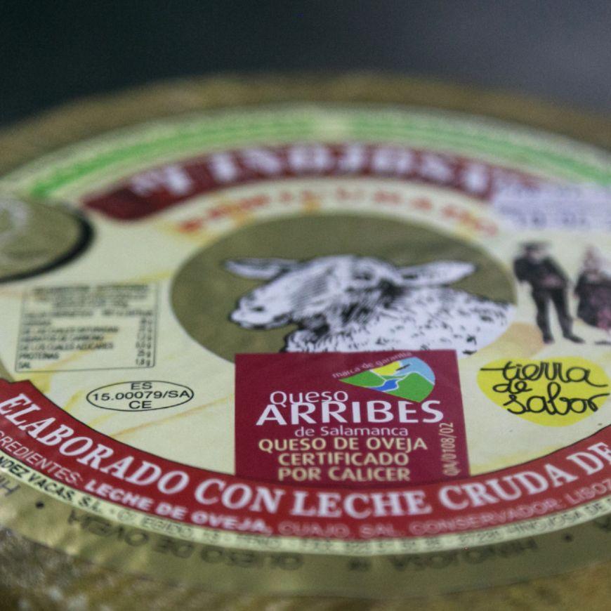 Queso Arribes Salamanca - Un producto con calidad certificada